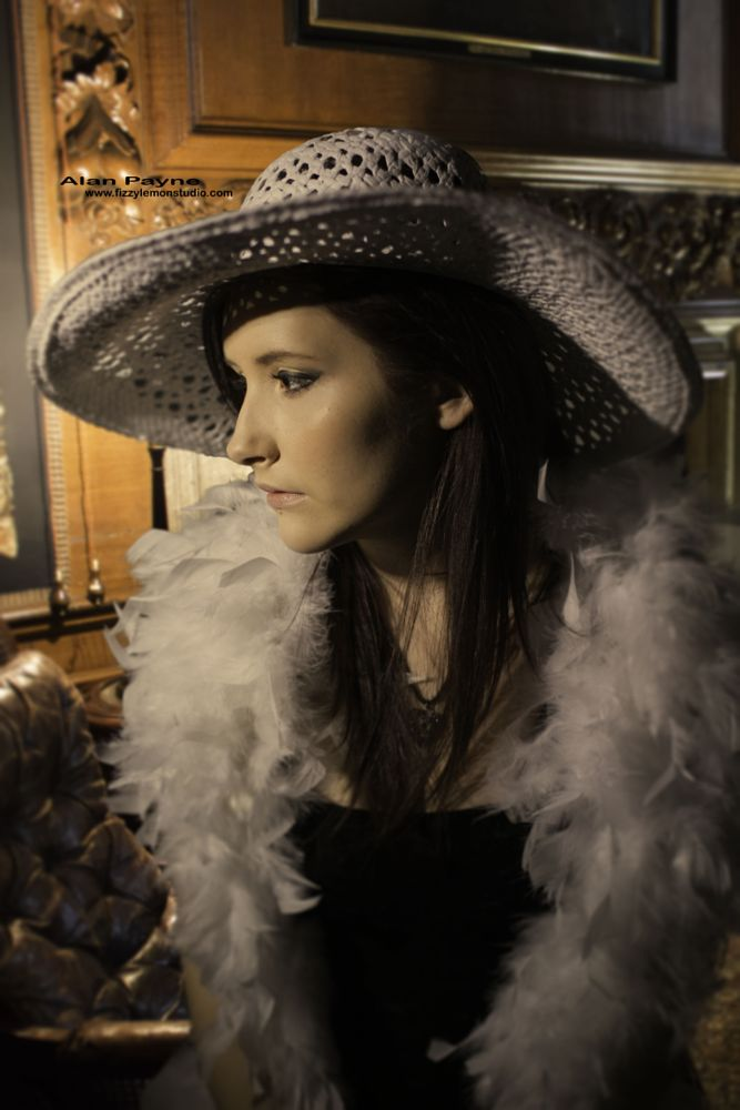 Photo in Portrait #hat #warm #house #model