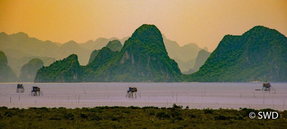 Photo in Landscape #halong bay #sunrise #vietnam
