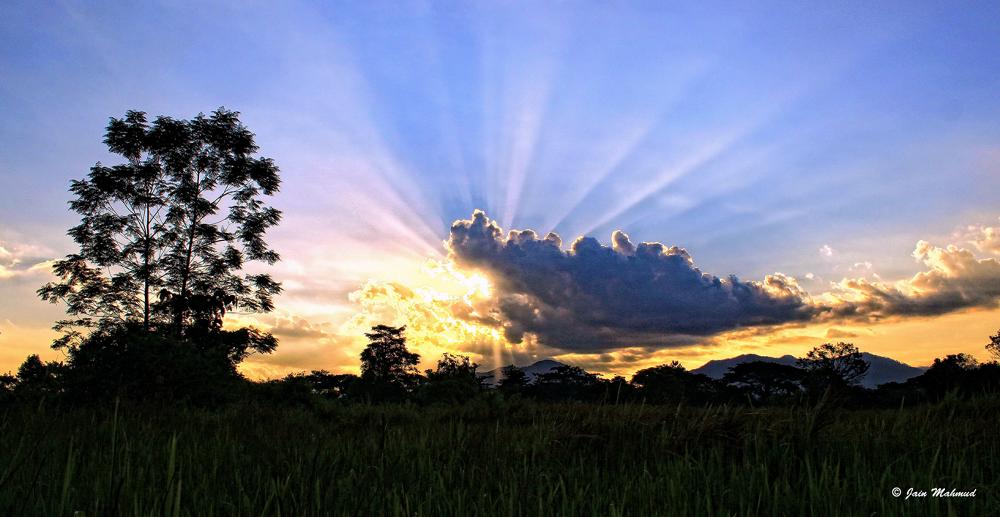 Photo in Random #landscape #nature #sky #sunset #rol #malaysia #perak