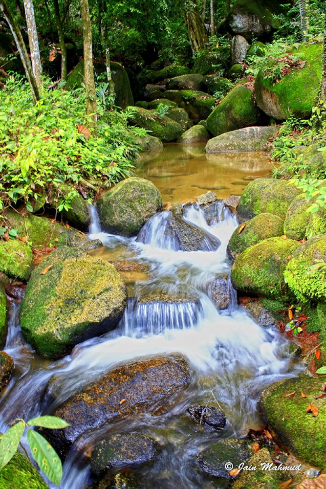 Photo in Random #landscape #nature #waterfall #stone #slow shutter #perak #malaysia #jungle