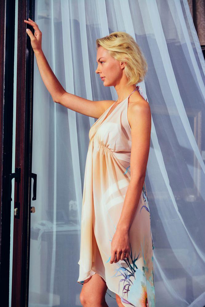 Photo in Fashion #model #dress #blonde #portrait