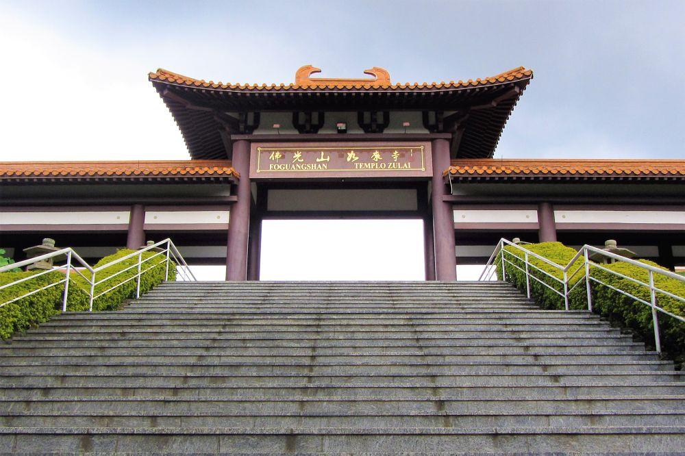 Photo in Architecture #zulai temple #templo zulai #buddhism