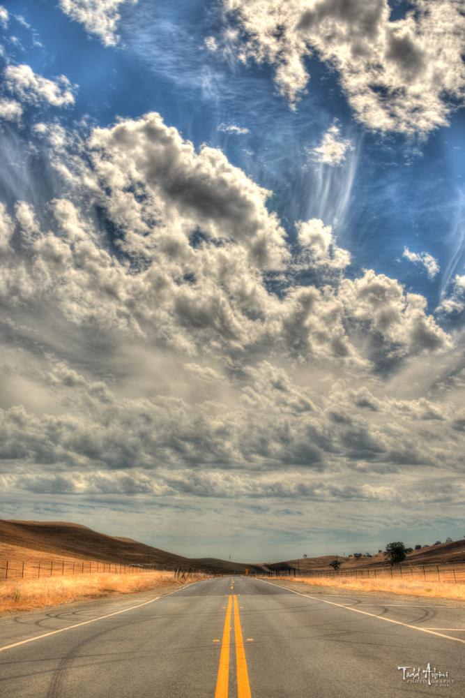 Photo in Landscape #road #backroad #country #rural #hdr #hdri #california