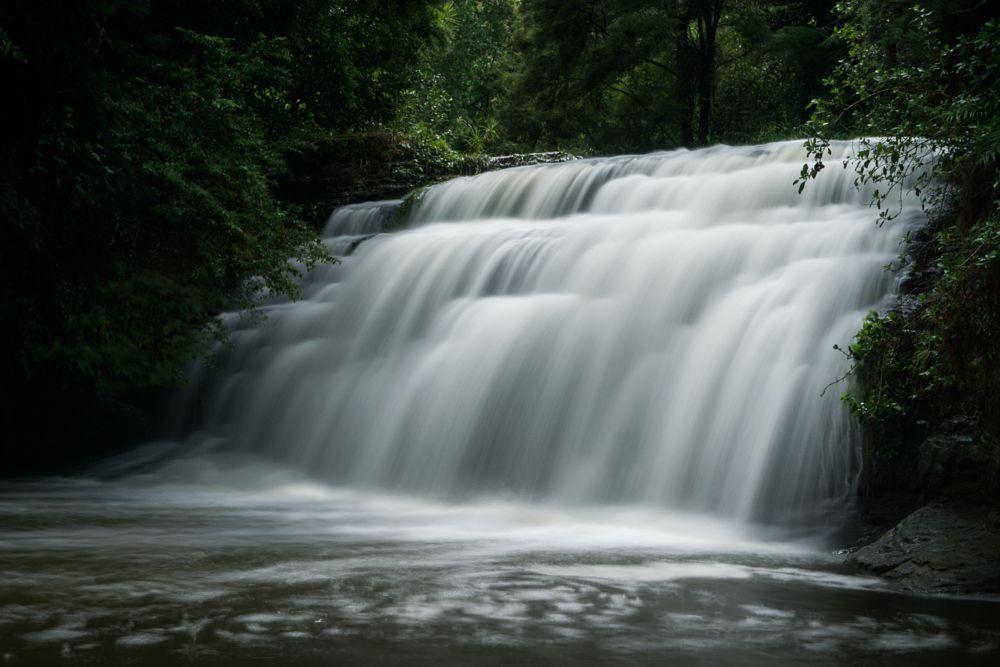 Photo in Landscape #lucas #creek #falls #waterfall