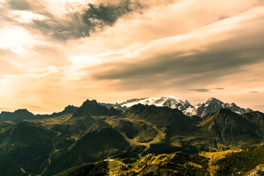 Photo in Landscape #marmolada #italy #alto adige #dolomiti #dolomiten #mountain #high #snow