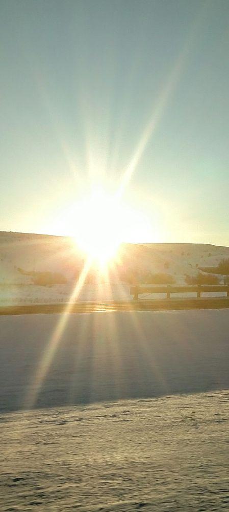 Photo in Random #sun #snow #bright #light