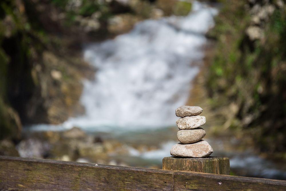 Photo in Landscape #paysage #eau #water #nature #pierre #bois