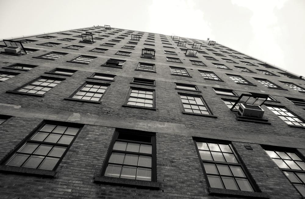 Photo in Urban #urban #city #building #windows #air conditioning