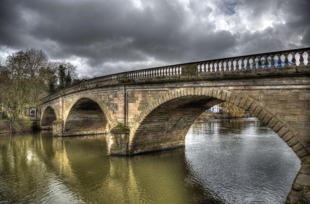 Photo in Cityscape #bridge #river #water
