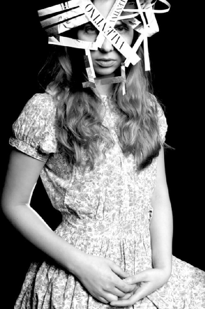Photo in Portrait #valentino #glamour #portrait #eyes #face #fashion #citpelo #view #bw #black