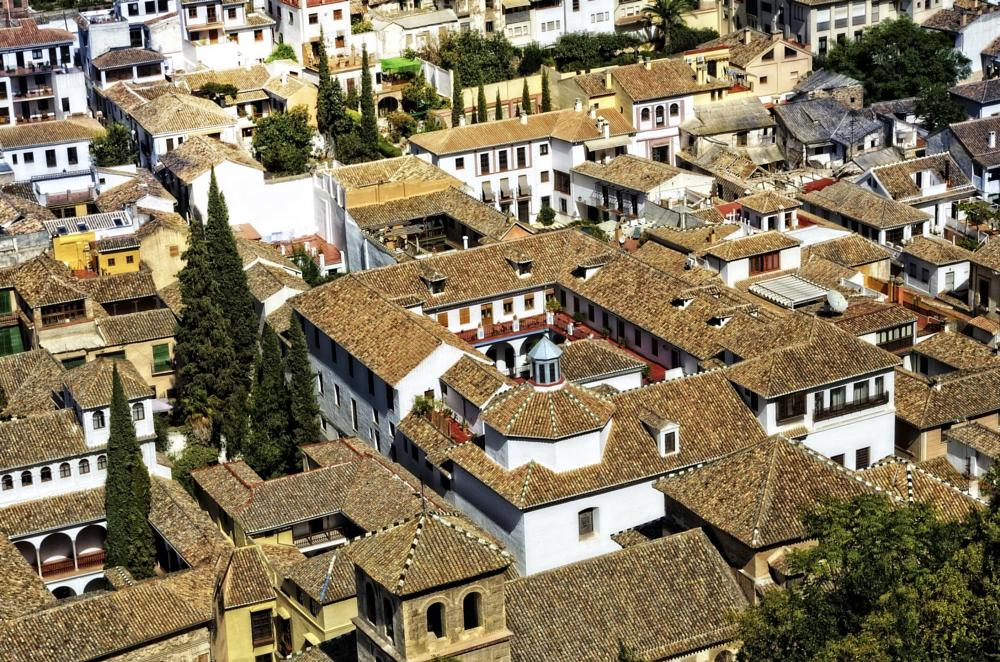 Photo in Cityscape #granada #spain #andalusia #rooftops