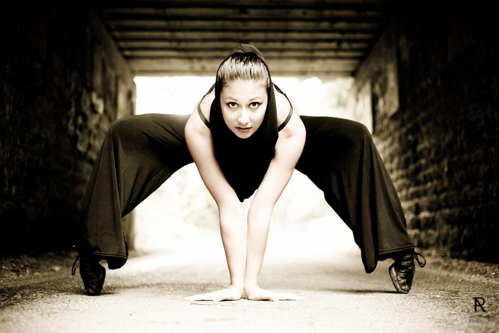 Photo in People #dance #art #female #street #shooting