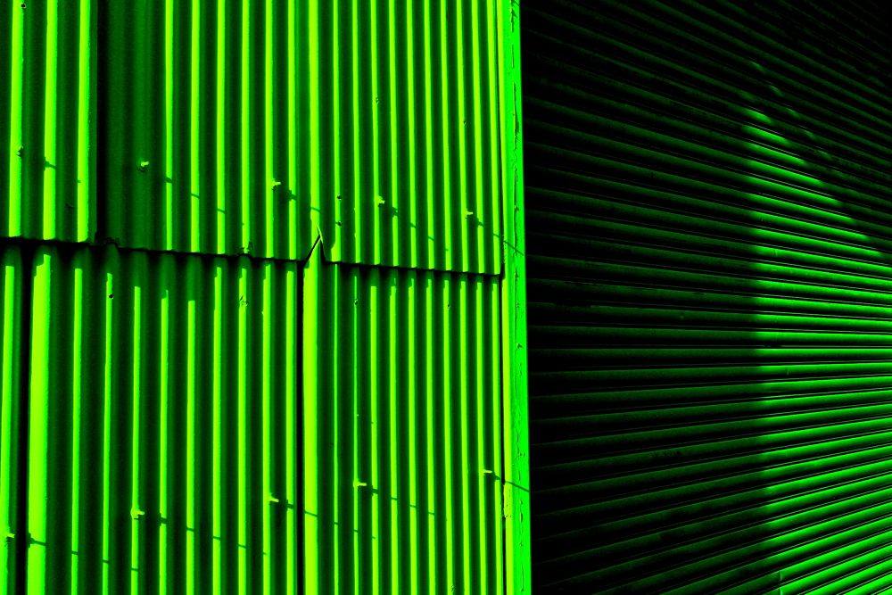 Photo in Abstract #vertical #horizontal #green