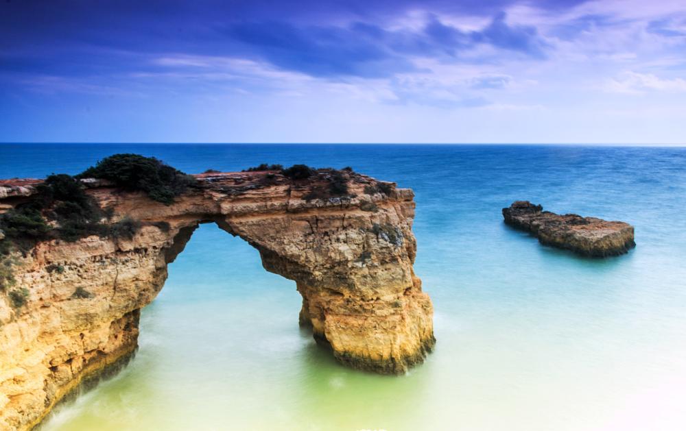 Photo in Landscape #rock formation #sea #waterscape #beach