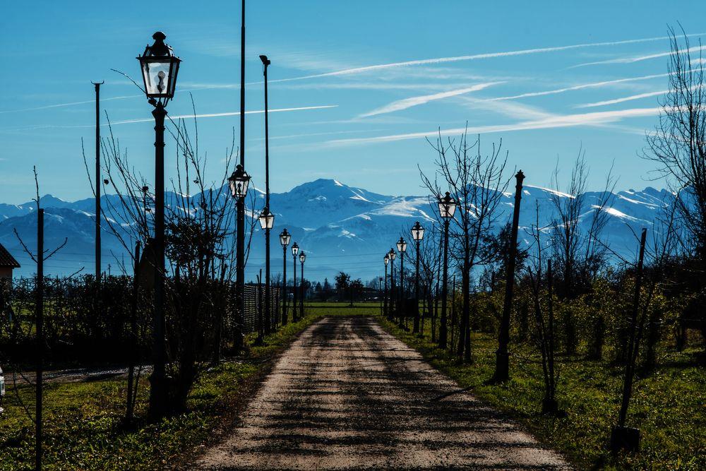Photo in Landscape #landscape #landscapes #landscape photography #deep piemonte #fuji xpro2 #fujifilm #fujilove #fujifollowme #wbpa #mondoviphoto #fossano #italy #italia #alps #to the mountains #christmas eve #boulevard