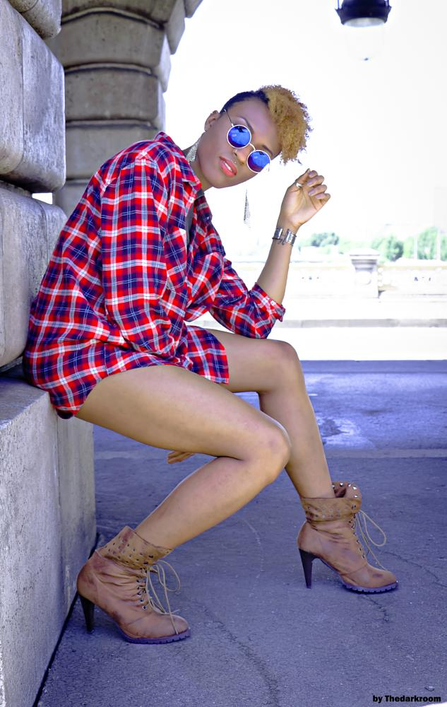 Photo in Fashion #fashion #colors #modeling #sexy #pretty #beauty #outdoor