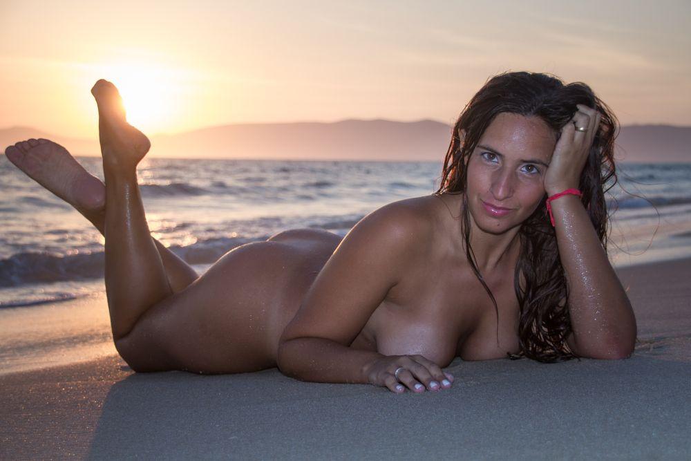Photo in Nude #mulher #model #beach