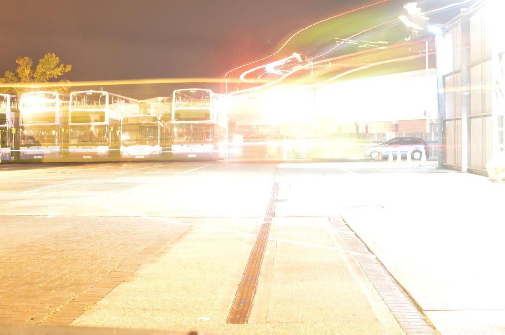 Photo in Random #bus depot paking wash night br