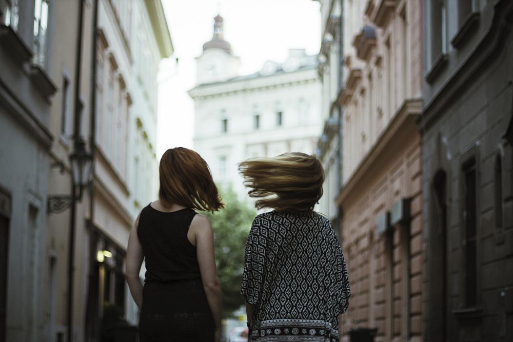 Photo in Portrait #woman #girl #girls #women #czech #canon #portrait #motion #hair #ginger #redhead #street #lost