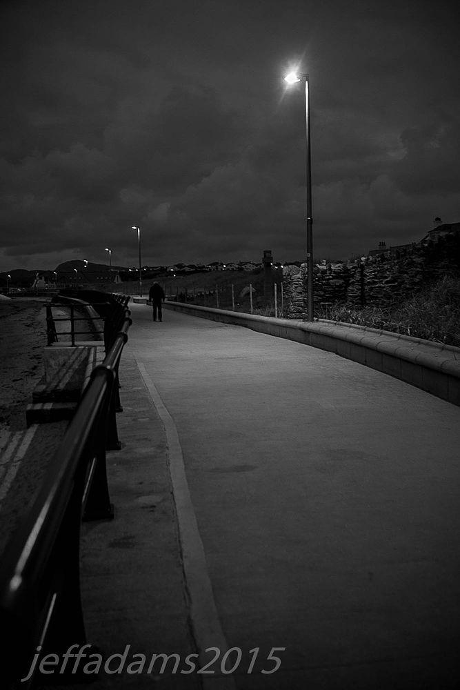 Photo in Random #night #walk #wales #light #dark