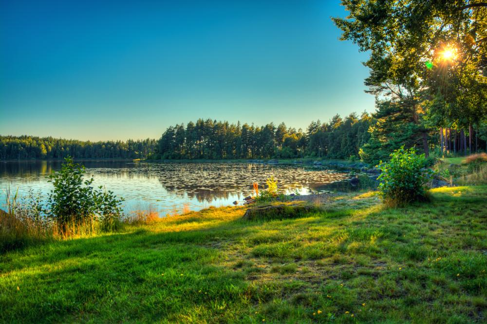 Photo in HDRI #hdr #lake #color