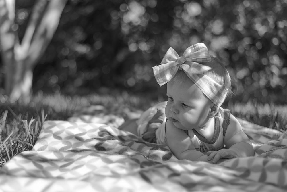 Photo in People #kid #child #girl #cute #black #white #summer #light #pretty