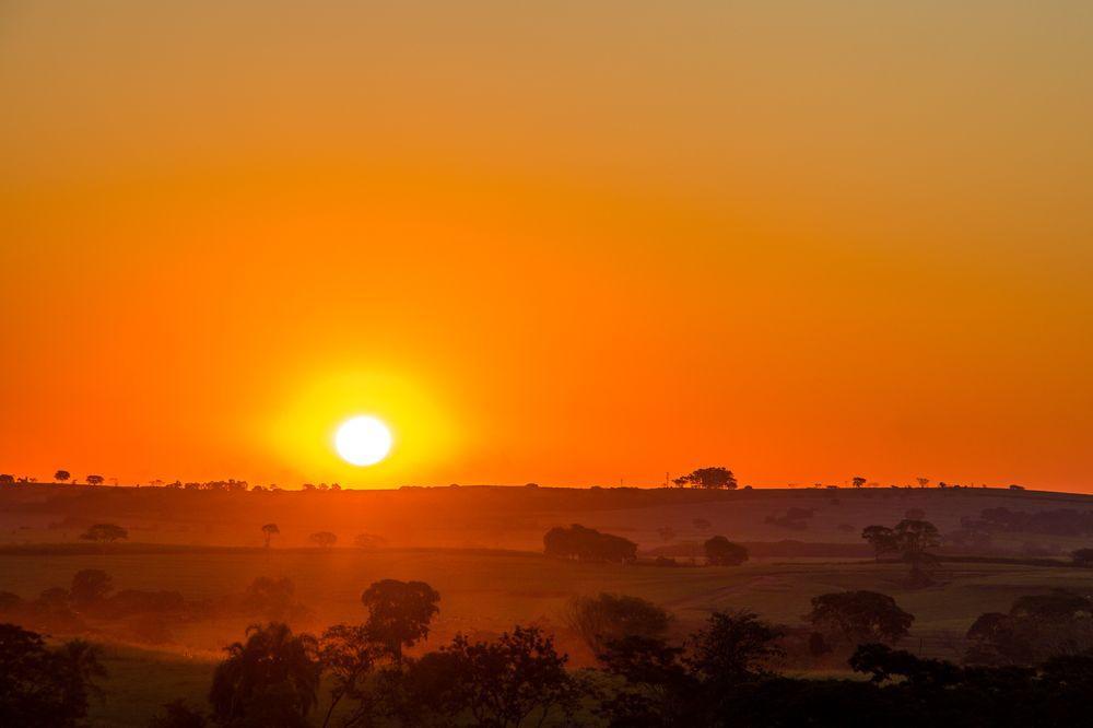Photo in Landscape #nature #colors #farm #sunset