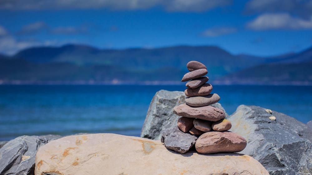 Photo in Travel #beach #stones #peace #calm