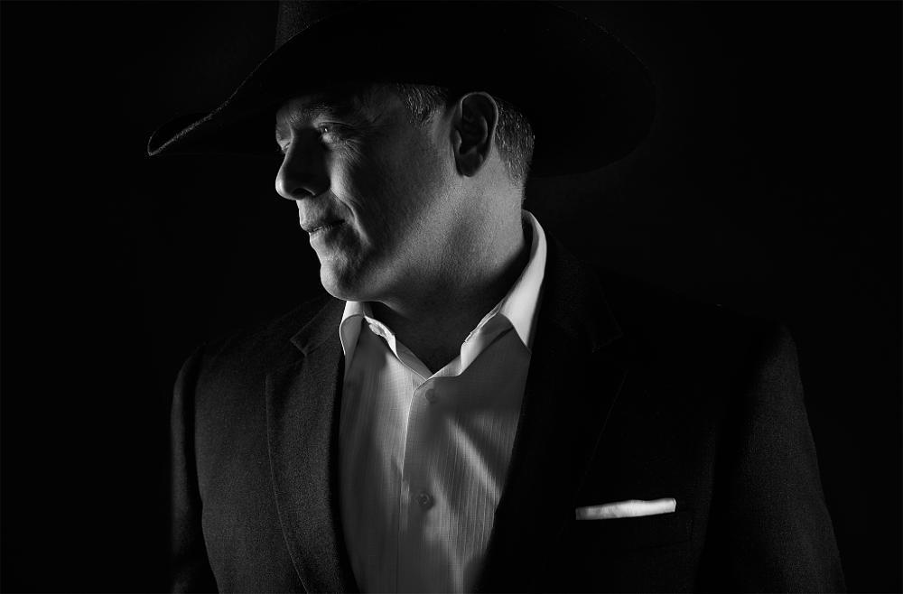 Photo in Portrait #nikon #profoto #bw #cowboy