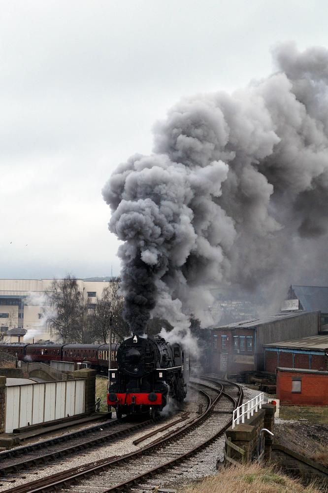 Photo in Vintage #steam #train #railway #track #station #5820 #usatc #locomotive #loco