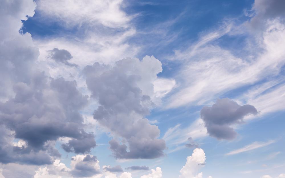 Photo in Landscape #sky #cloud #blue #nature #violet #white #weather