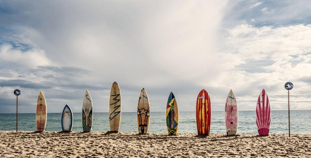 Photo in Sports #surf #beach #sunny #clouds