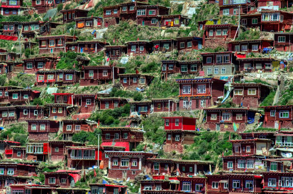 Photo in Architecture #red #wooden #house #buddhist
