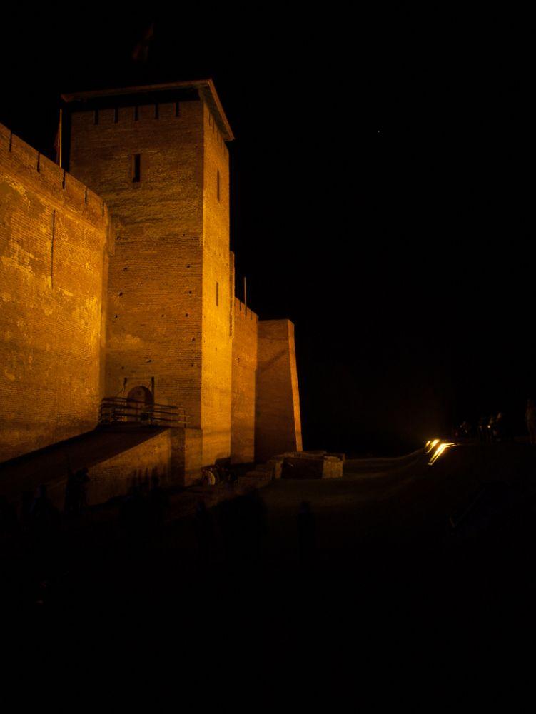 Photo in Architecture #castle #vár #night