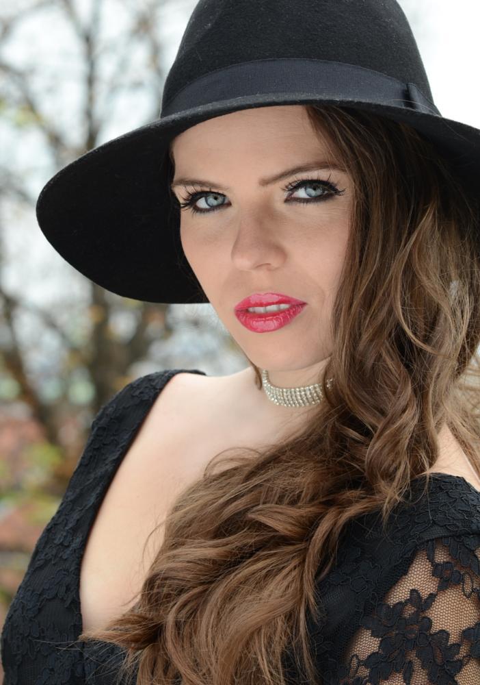 Photo in Portrait #girl #black #hat