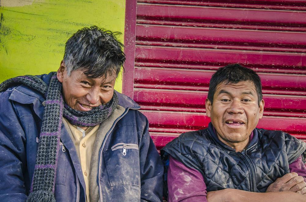 Photo in People #workers #laugh #bolivia