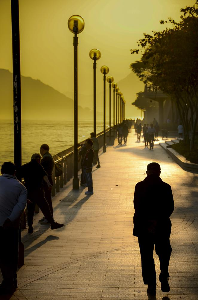 Photo in Landscape #hong kong #sunrise #harbour