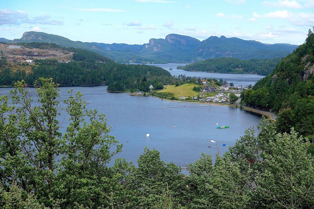 Photo in Travel #selura lake #nuland #norway