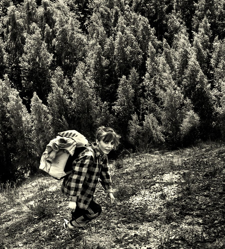 Photo in Film #tanya #girl #forest