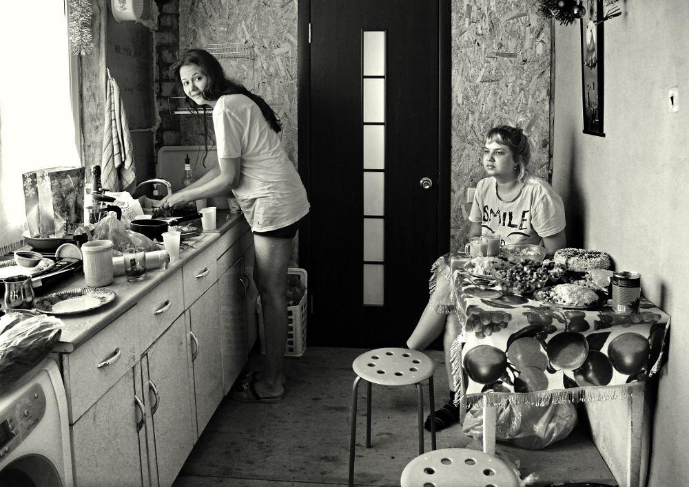 Photo in People #food #morning #girls