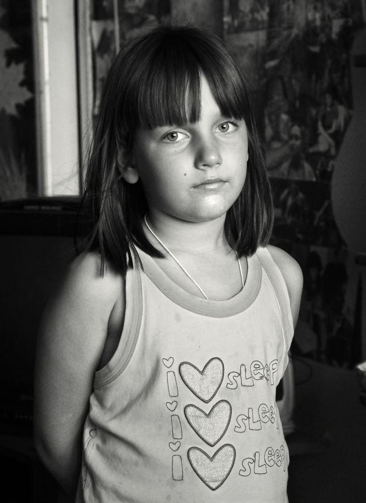 Photo in Portrait #girl #kid #look