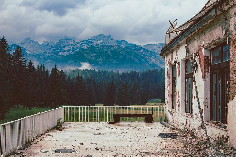 Photo in Nature #old #house #hospital #war #nature #solitude #peace #landscape #zabljak #montenegro