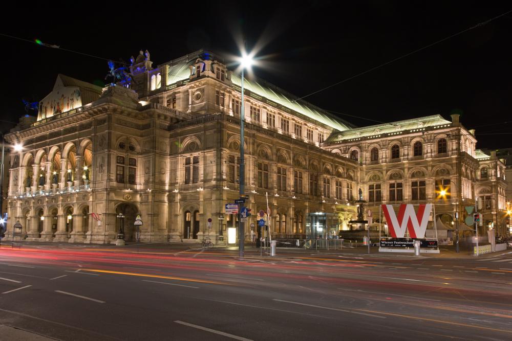 Photo in Cityscape #long exposure #vienna #oper