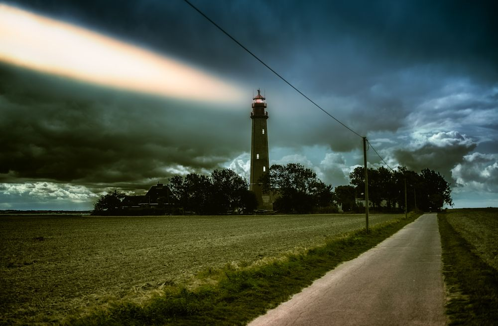 Photo in Landscape #lighthouse #fehmarn #ostsee #sea