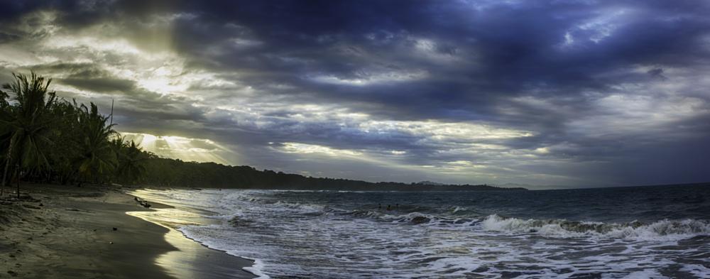 Photo in Landscape #sunset #beach #costa rica #caribbean