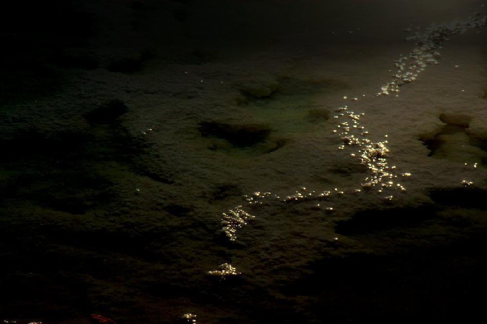 Photo in Abstract #light #salt #dead sea #sea #water