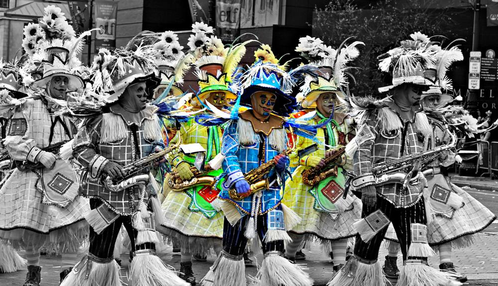 Photo in People #parade #new years day #philadelphia #mummers #mummery #pennsylvania #pa
