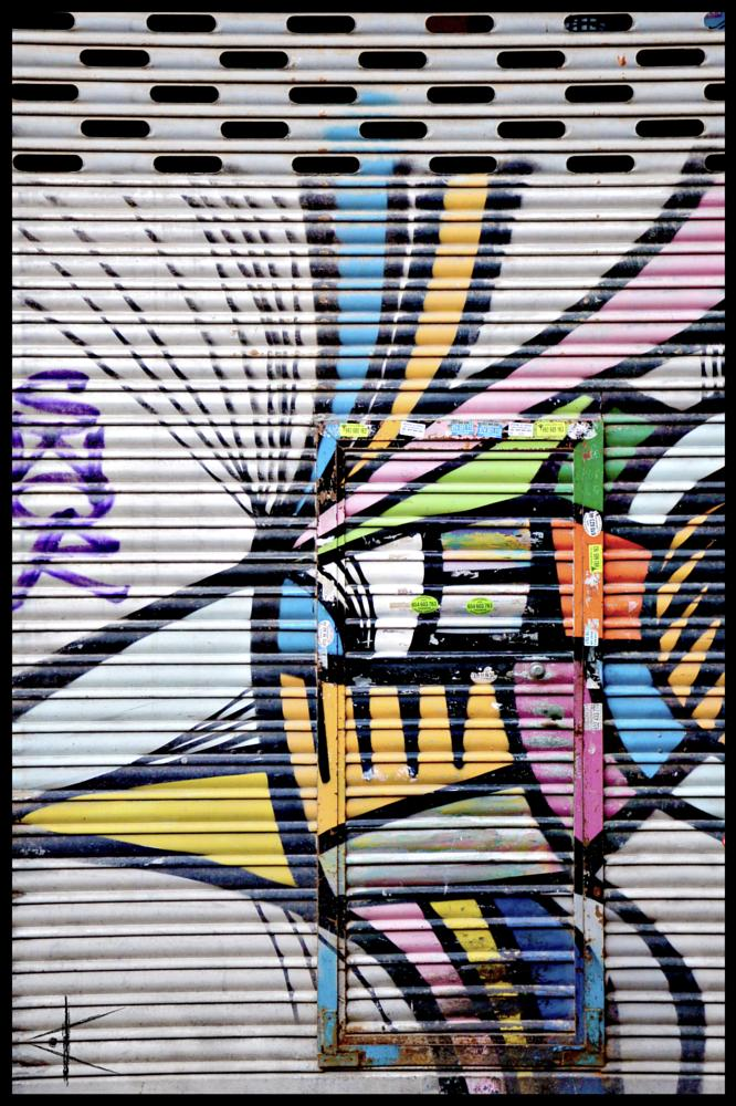 Photo in Abstract #barcelona #colors #graffiti #tag