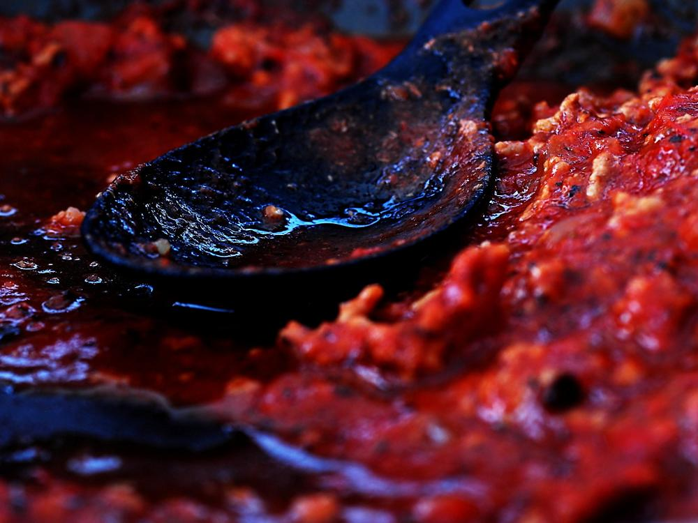 Photo in Random #food #meatsause #red #color