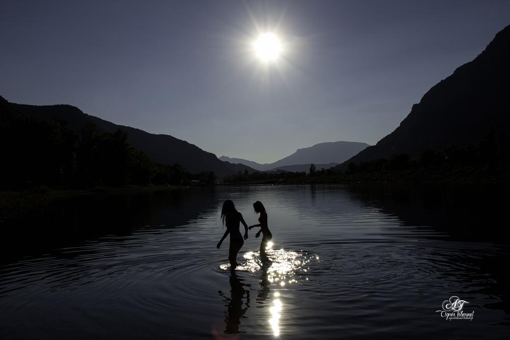 Photo in Portrait #lac #ombres #hautes-alpes